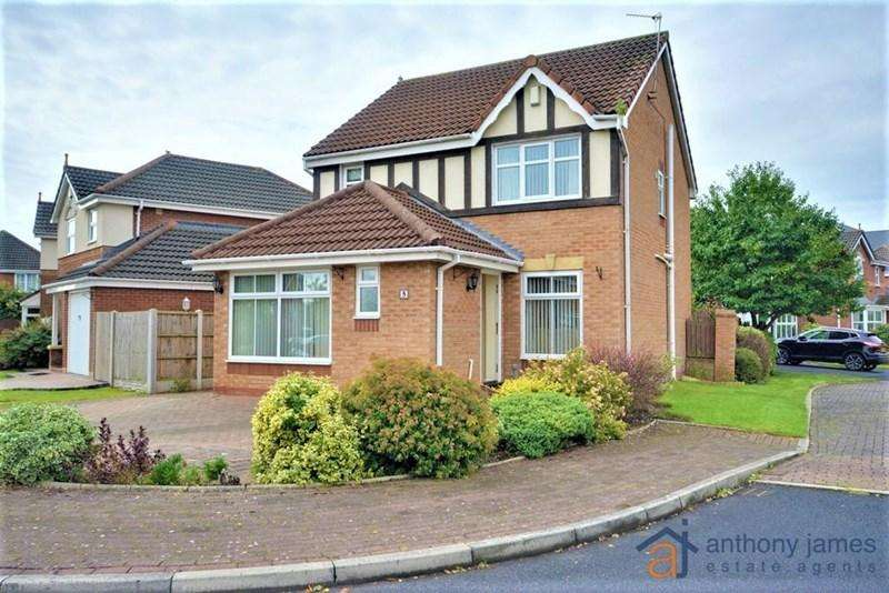 3 Bedrooms Detached House for sale in Cheriton Park, Southport