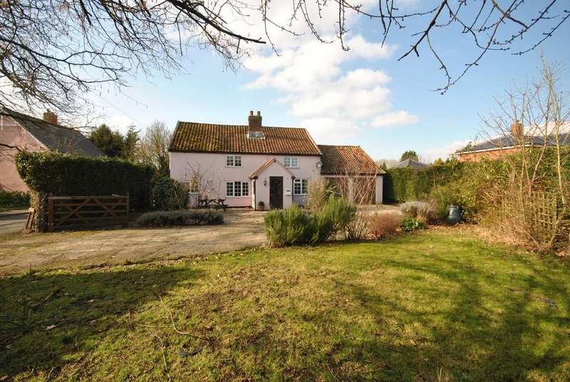 4 Bedrooms Detached House for sale in Mellis Road, Yaxley, Suffolk
