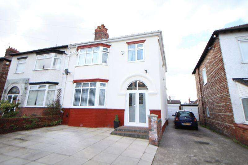 3 Bedrooms Semi Detached House for sale in Ashburton Avenue, Prenton