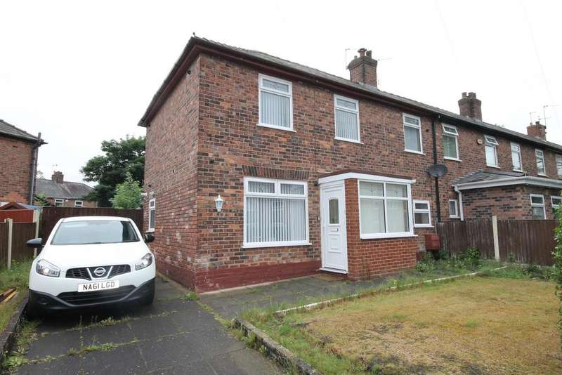 3 Bedrooms End Of Terrace House for sale in Cedar Avenue, Widnes, Cheshire, WA8 6SN