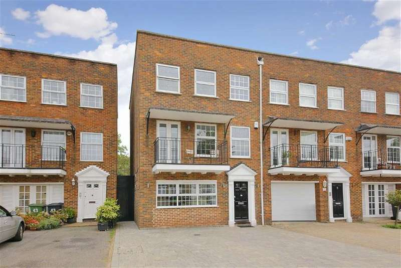 4 Bedrooms Town House for sale in Cavendish Crescent, Elstree, Hertfordshire