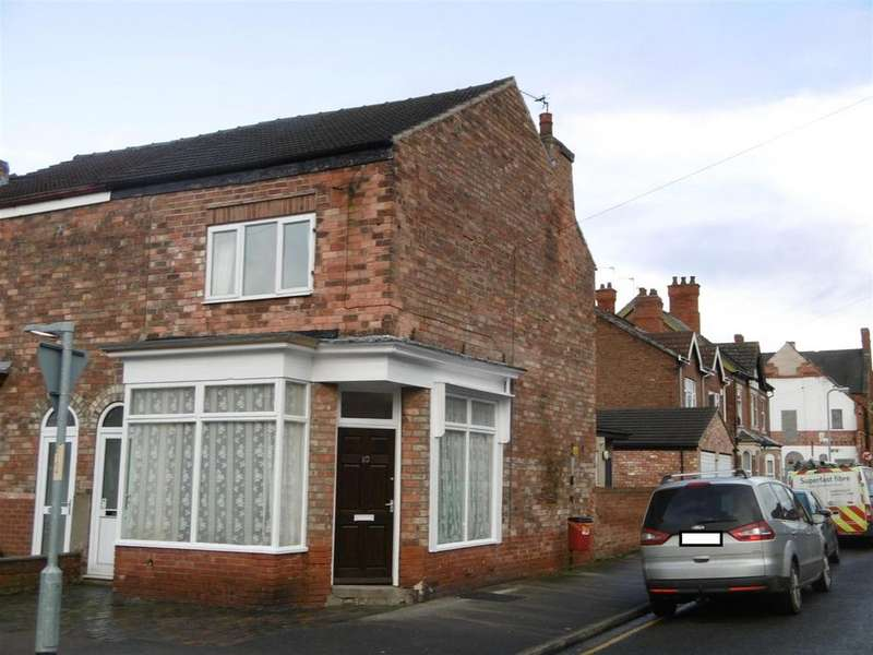 3 Bedrooms End Of Terrace House for sale in Forster Street, Gainsborough, DN21 2LL