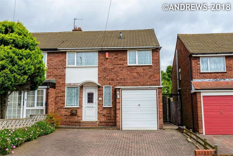 3 Bedrooms Semi Detached House for sale in Waverley Avenue, Great Barr, BIRMINGHAM