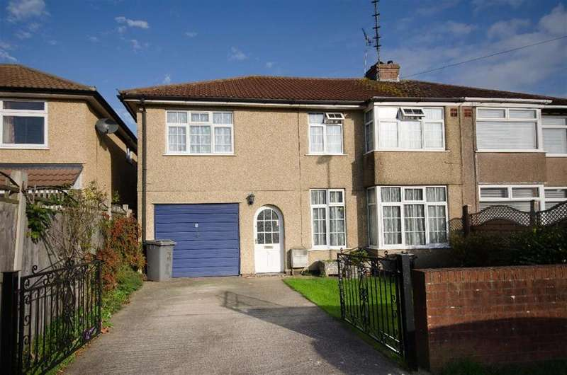 5 Bedrooms Semi Detached House for sale in Burley Avenue, Bristol, BS16 5PP