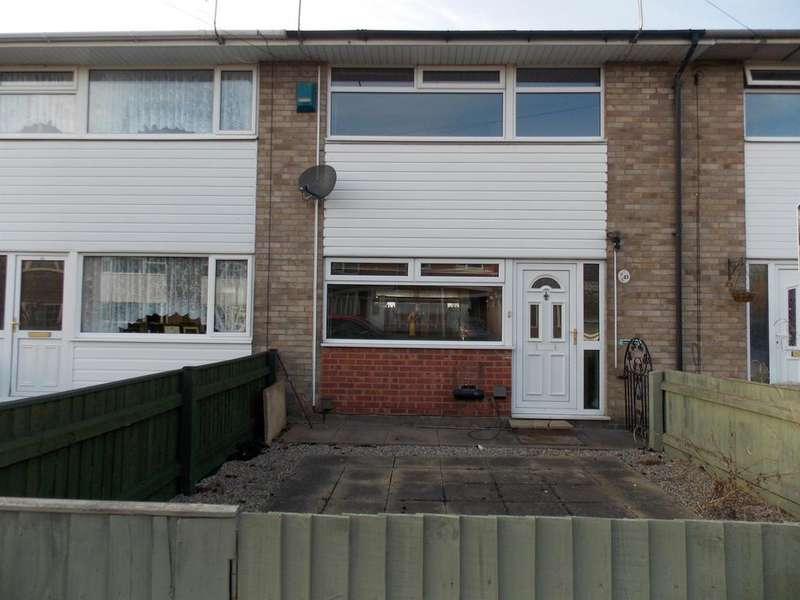 2 Bedrooms Terraced House for sale in Salamander Close, Grimsby, DN31 2NP