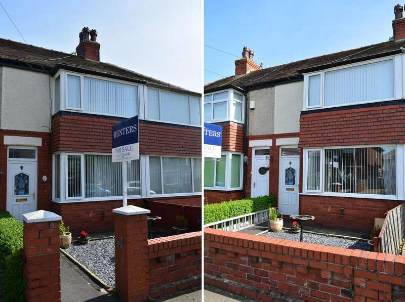 2 Bedrooms Terraced House for sale in Ivy Avenue, South Shore, Blackpool, FY4 3QG