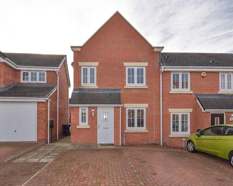 3 Bedrooms End Of Terrace House for sale in Arkless Grove, The Grove, Consett, DH8 8AB