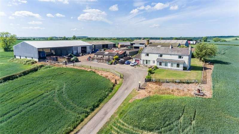 5 Bedrooms Farm Commercial for sale in Whitton Three Gates, Whitton Lane, Stillington, Stockton On Tees, Durham