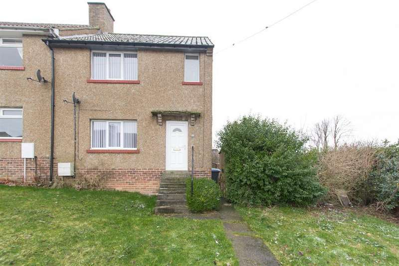 2 Bedrooms Semi Detached House for sale in Moorland Crescent, Consett, DH8 9RG