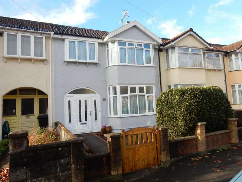 3 Bedrooms Terraced House for sale in Ravenhill Road , Knowle, Bristol, BS3 5BP