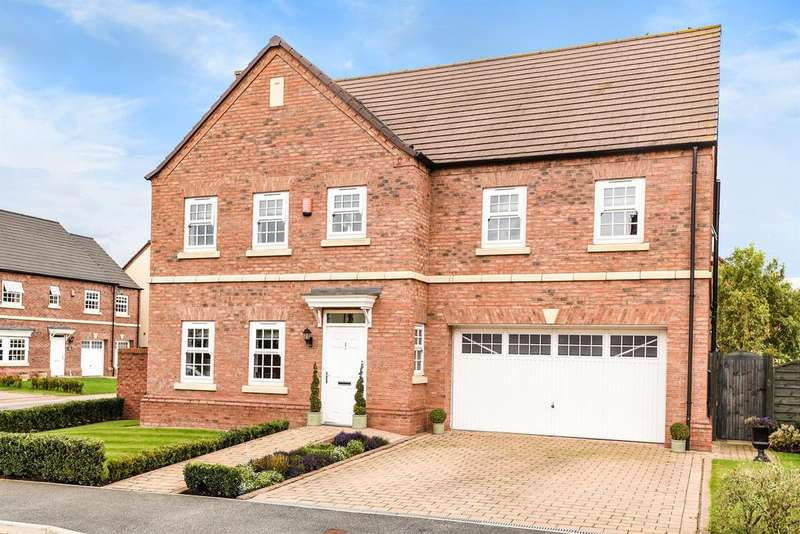 5 Bedrooms Detached House for sale in Willow Grove, Dalton, Thirsk YO7 3QH