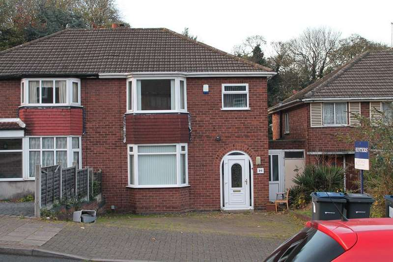 3 Bedrooms Semi Detached House for sale in The Croftway, Handsworth Wood, Birmingham, B20 1EG