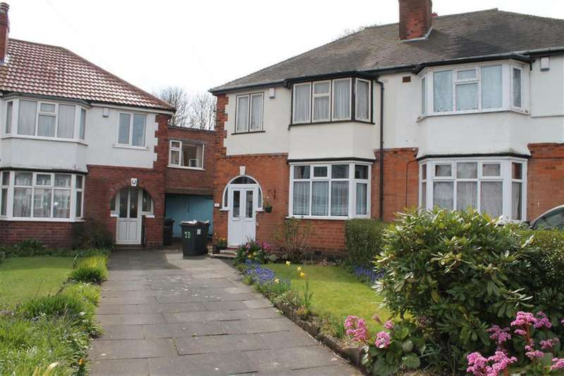 3 Bedrooms Semi Detached House for sale in Lawnswood Grove, Handsworth, Birmingham, B21 8NT