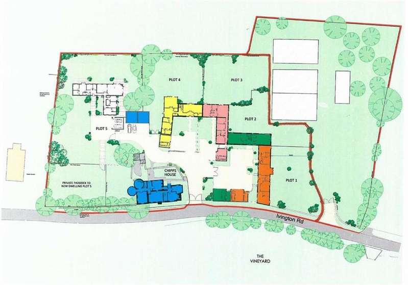 Land Commercial for sale in Residential Development, Chipps House Farm, Ivington, Leominster, Herefordshire, HR6