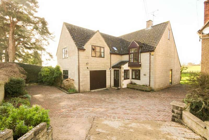 4 Bedrooms Detached House for sale in North Nibley Gloucestershire