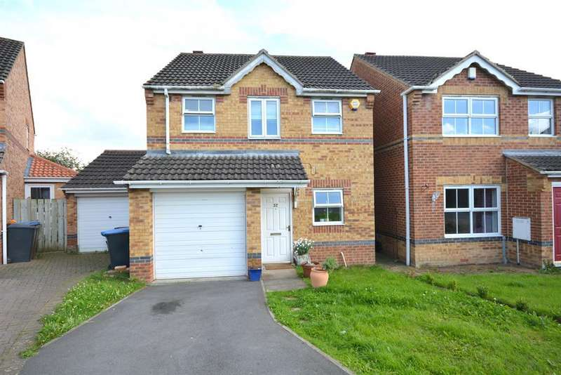 3 Bedrooms Detached House for sale in Fairfield Court, Bishop Auckland, DL14 9TG
