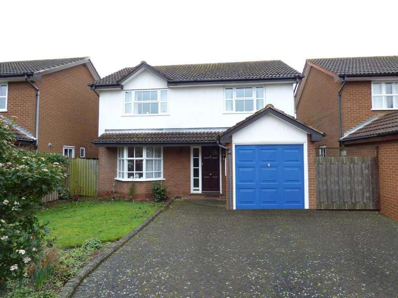4 Bedrooms Detached House for sale in Mountbatten Close, Stratford-Upon-Avon