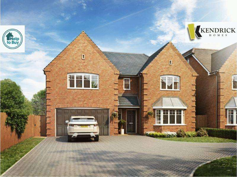 5 Bedrooms Detached House for sale in Bosty Lane, Aldridge