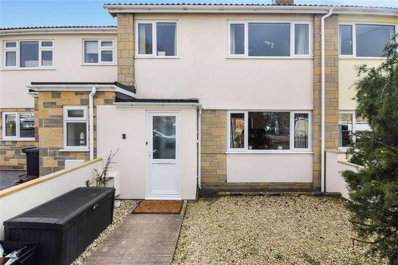 3 Bedrooms Terraced House for sale in Harewell Walk, Wells, Somerset, BA5