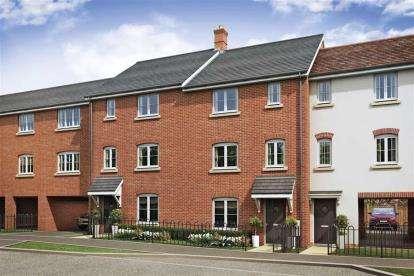 4 Bedrooms Terraced House for sale in Milton Keynes, Buckinghamshire
