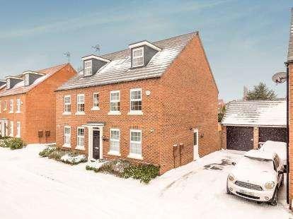 5 Bedrooms Detached House for sale in Senator Close, Hucknall, Nottingham, Nottinghamshire