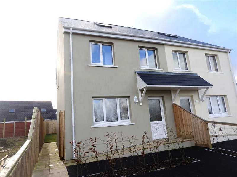 3 Bedrooms Semi Detached House for sale in Crug Yr Efydd, Crymych, Pembrokeshire