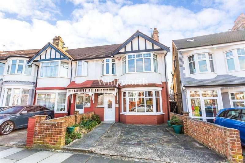 3 Bedrooms End Of Terrace House for sale in Hamilton Crescent, London, N13