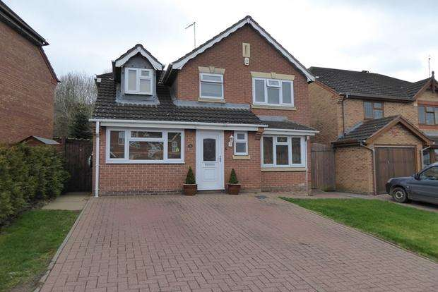 4 Bedrooms Detached House for sale in Harcourt Way, Hunsbury Hill, Northampton, NN4