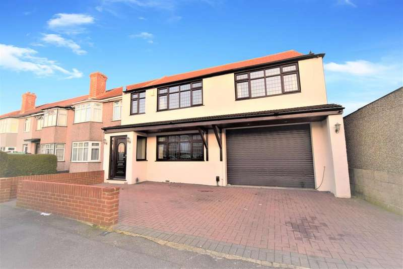 5 Bedrooms Semi Detached House for sale in Woburn Avenue, Hornchurch, RM12 4NQ