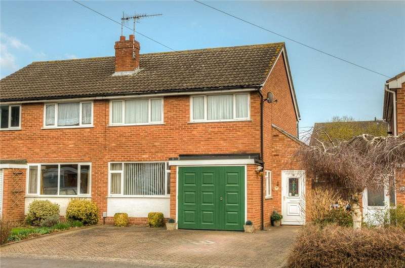 3 Bedrooms Semi Detached House for sale in Talbot Road, Stratford-upon-Avon, CV37