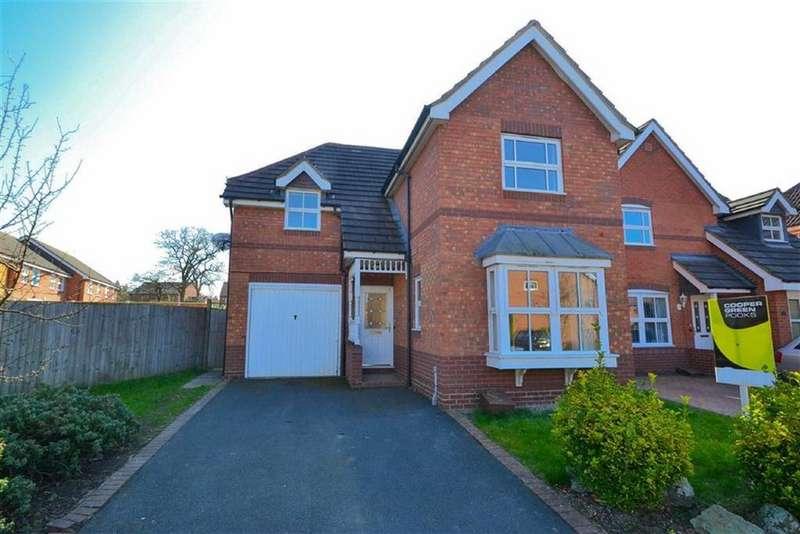 3 Bedrooms Detached House for sale in Latchford Lane, Berwick Grange, Shrewsbury