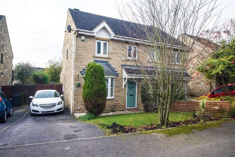 3 Bedrooms Semi Detached House for sale in Park Avenue, Shelley, Huddersfield, HD8 8JY