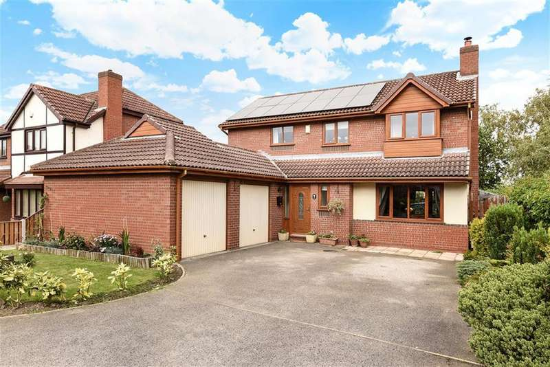 4 Bedrooms Detached House for sale in Ridings Way, Lofthouse Gate, Wakefield, WF3 3SJ