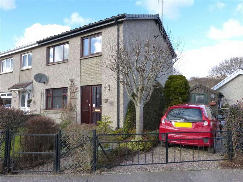 3 Bedrooms Terraced House for sale in Ballinlochan Terrace, Pitlochry, Perthshire
