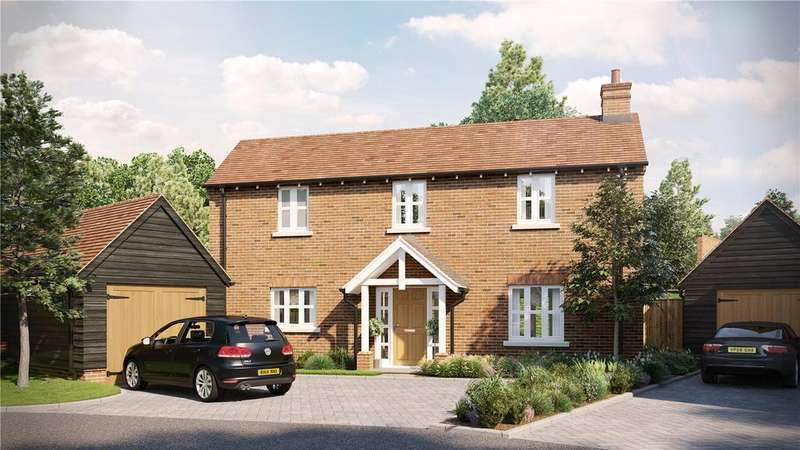 4 Bedrooms Detached House for sale in The Maltings At Millers Brook, Farnham Road, Sheet, Petersfield