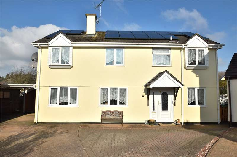 5 Bedrooms Detached House for sale in Cherry Tree Gardens, Tiverton, Devon, EX16