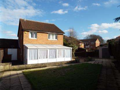 4 Bedrooms Detached House for sale in Leygreen Close, Luton, Bedfordshire