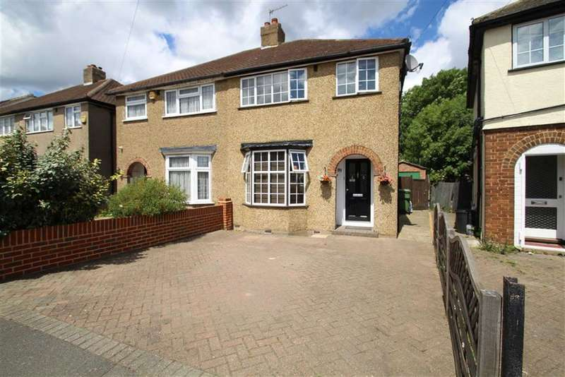 3 Bedrooms Semi Detached House for sale in Dickens Avenue, Uxbridge, Middlesex