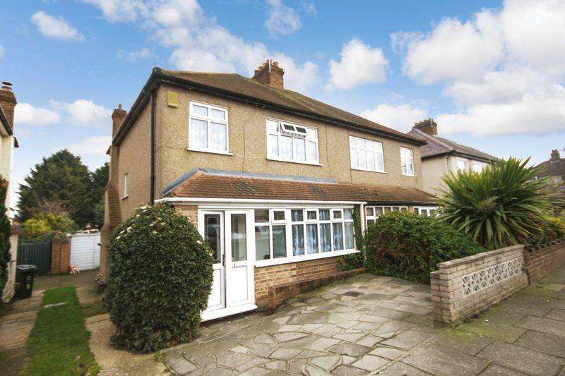 3 Bedrooms Semi Detached House for sale in Vale Road, Dartford