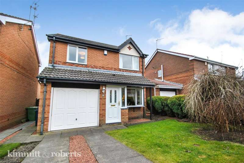 3 Bedrooms Detached House for sale in Cricklewood Drive, Penshaw, Tyne and Wear, DH4