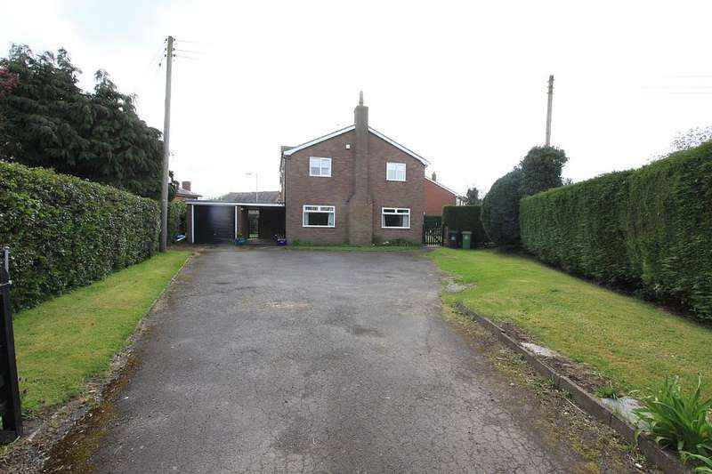 4 Bedrooms Detached House for sale in Ruyton Road, Baschurch, Shrewsbury, Shropshire, SY4 2BA