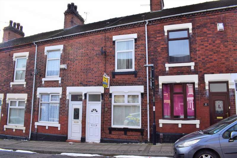 2 Bedrooms Terraced House for sale in Homer Street, Hanley, Stoke on Trent ST1