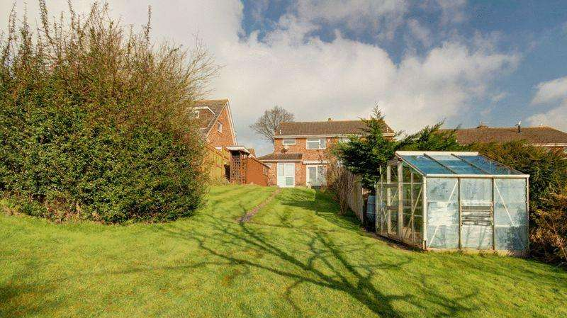 3 Bedrooms Semi Detached House for sale in Barley Farm Road, Exeter