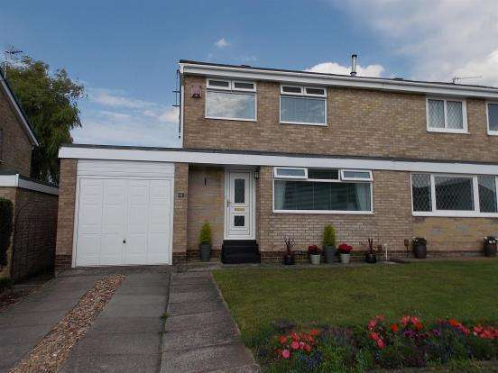 3 Bedrooms Semi Detached House for rent in Silverdale, Nunthorpe