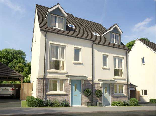 4 Bedrooms Semi Detached House for sale in Godrevy Parc, Hayle, Cornwall