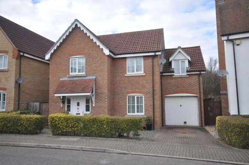 3 Bedrooms Detached House for sale in Grantham Avenue, Great Notley, Braintree, CM77