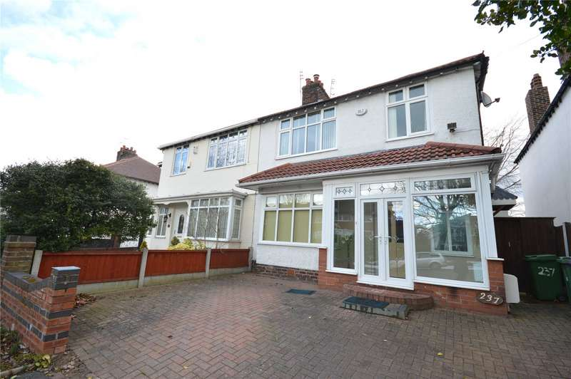3 Bedrooms Semi Detached House for sale in Woolton Road, Childwall, Liverpool, L16