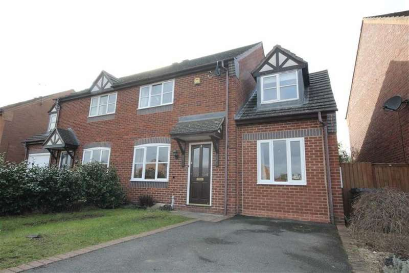 3 Bedrooms Semi Detached House for sale in Antony Gardner Crescent, Leamington Spa, Warwickshire, CV31