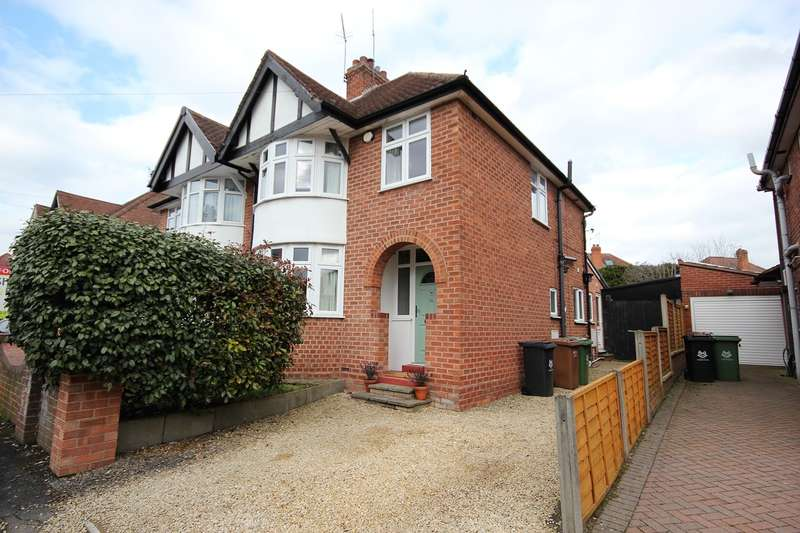 3 Bedrooms Semi Detached House for sale in Eltric Road, Claines, Worcester, WR3
