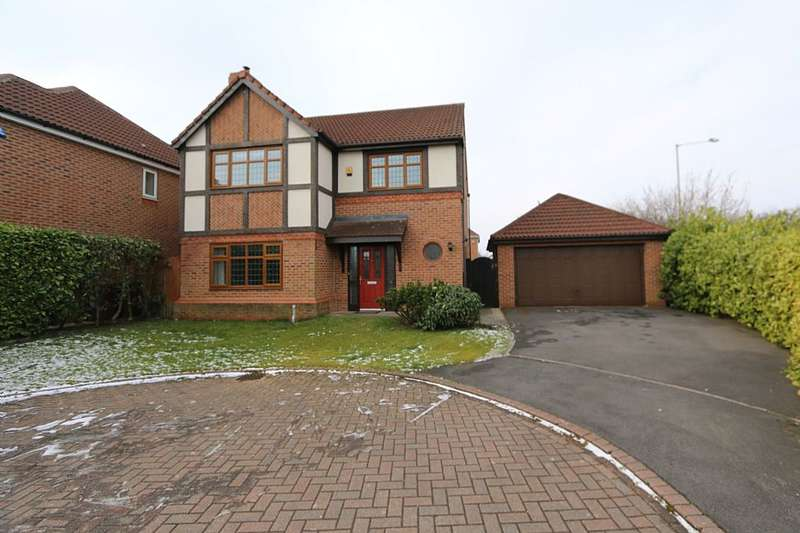 4 Bedrooms Detached House for sale in Cromwell Way, Penwortham, Preston, Lancashire, PR1 9SB